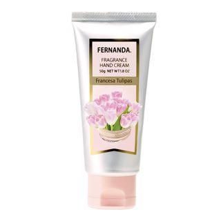 フェルナンダ フレグランスハンドクリーム フランセーザ チュリパス 50gの画像
