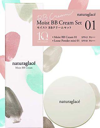 ナチュラグラッセ ナチュラグラッセ naturaglace ナチュラグラッセ モイスト BBクリームセット 01 クラッシーフローラルの画像