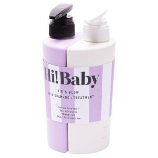 Hi!Baby Hi!Baby エアー&ブロウツインシャンプー+トリートメント シャンプー&トリートメント 880mlの画像