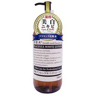 HBA エイチビーエー H.B.A. HBA 薬用プラセンタホワイトローション 500mLの画像