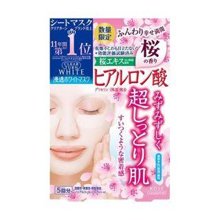 クリアターン クリアターン CLEAR TURN 【限定品】ホワイト マスク(ヒアルロン酸) 限定さくらの香りの画像