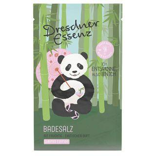 ドレスナーエッセンス ドレスナーエッセンス DRESDNER ESSENZ DE アニマルシリーズ バスソルト 本体 パンダ 60g しっとり エキゾチックなドラゴンフルーツとフレッシュグリーンの画像