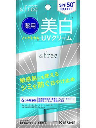 アンドフリー アンドフリー 薬用美白UVクリームの画像