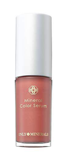 オンリーミネラル ミネラルカラーセラム 01 レッドコーラル 高発色カラー 4gの画像