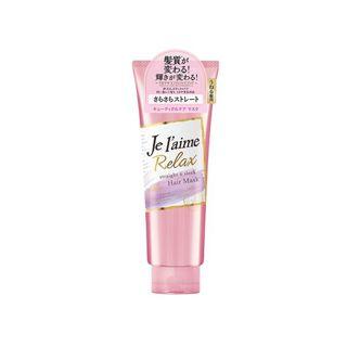 ジュレーム ジュレーム Je l'aime リラックスディープトリートメントヘアマスク(ストレート&スリーク) 230g フルーティフローラルの香りの画像