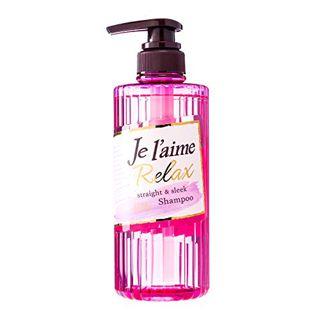 ジュレーム ジュレーム Je l'aime リラックスシャンプー(ストレート&スリーク) 本体 500ml フルーティフローラルの香りの画像