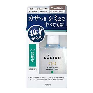 マンダム ルシード 薬用トータルケアひんやり化粧水 110ml 無香料の画像