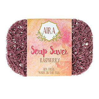 AIRA AIRA ナチュラルソープディッシュ トウモロコシと大豆由来の環境にやさしい石鹸置き RASPBERRY(ラズベリー) ラズベリー 23gの画像