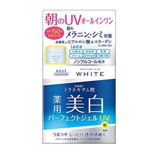 モイスチュアマイルド ホワイト モイスチュアマイルド ホワイト パーフェクトジェル UV 90gの画像