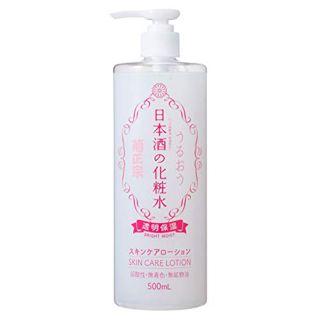 菊正宗 日本酒の化粧水 透明保湿 500mlの画像