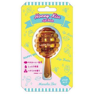 マヌカビー Manuka Bee オイルリップバーム ハニーキス(ハチミツの香り) 5.5gの画像