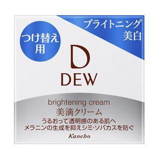 DEW DEW(デュウ) ブライトニングクリーム リフィル 30gの画像