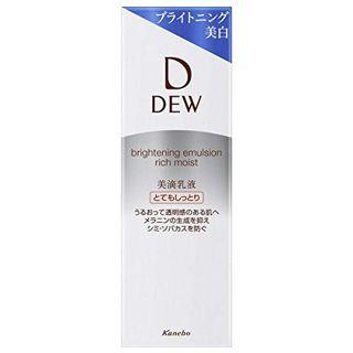 DEW DEW(デュウ) ブライトニングエマルジョン とてもしっとり 本体 100mlの画像