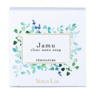 vie ヴィーナスラボ Venus Lab フェミナチュール ジャムウクリアナノソープ 本体 100g フローラルムスクの香りの画像