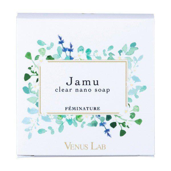 vieのヴィーナスラボ Venus Lab フェミナチュール ジャムウクリアナノソープ 本体 100g フローラルムスクの香りに関する画像1