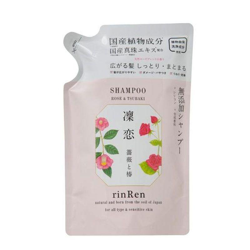 凛恋 rinRen レメディアル シャンプー ローズ&ツバキ 詰替え 400mlのバリエーション3