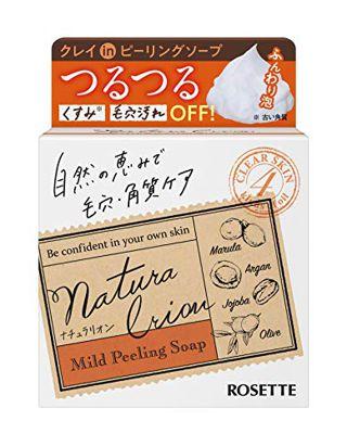 ロゼット ロゼット ROSETTE ナチュラリオン マイルドピーリングソープ 60g さっぱり フルーティアロマの香りの画像