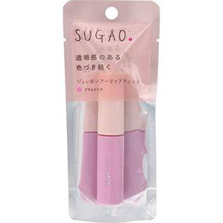 SUGAO ジュレ感シアーリップティント プラムピンク 4.7mlの画像