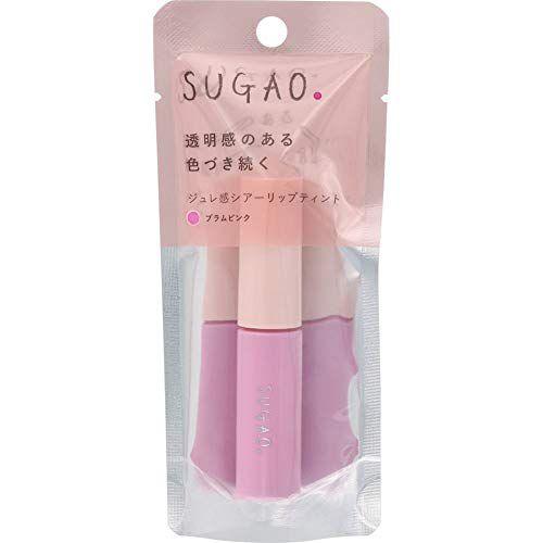 SUGAOのジュレ感シアーリップティント プラムピンク 4.7mlに関する画像1
