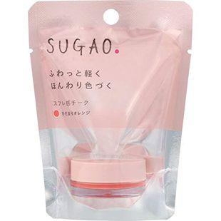 SUGAO スフレ感チーク  ひだまりオレンジ 4.8g の画像 0