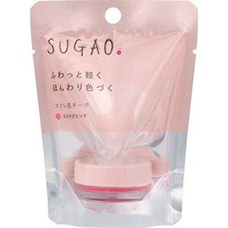 SUGAO スフレ感チーク  はなやぎピンク 4.8gの画像
