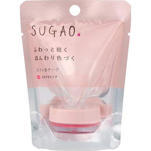 SUGAOのスフレ感チーク  はなやぎピンク 4.8gに関する画像1