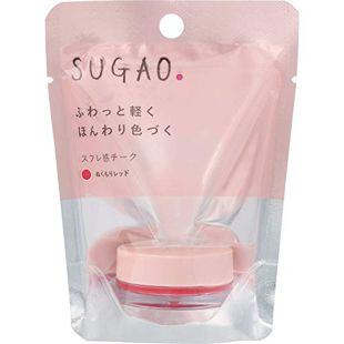 SUGAO スフレ感チーク  ぬくもりレッド 4.8g の画像 0