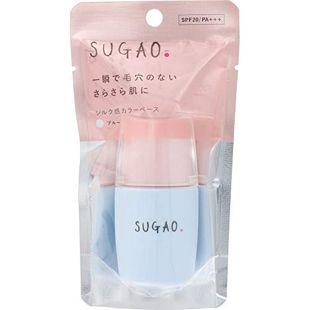SUGAO シルク感カラーベース ブルー 20ml SPF20 PA+++ の画像 0