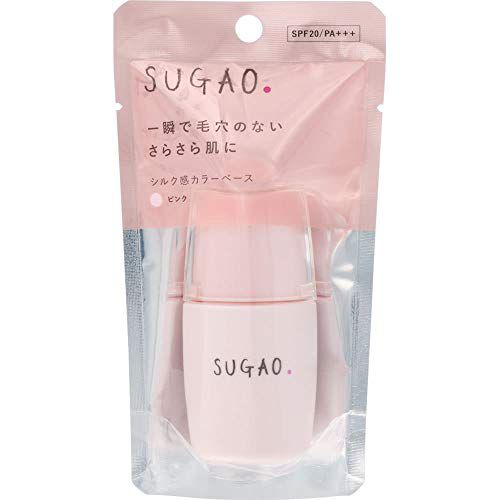 SUGAOのシルク感カラーベース ピンク 20ml SPF20 PA+++に関する画像1