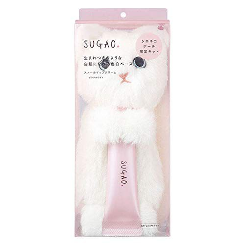 SUGAO(スガオ) スノーホイップクリーム ピンクホワイト シロネコキット ピンクホワイト 25gのバリエーション3