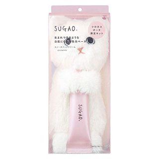 SUGAO スノーホイップクリーム ピンクホワイト シロネコポーチ限定キット 数量限定 25g SPF23 PA+++の画像