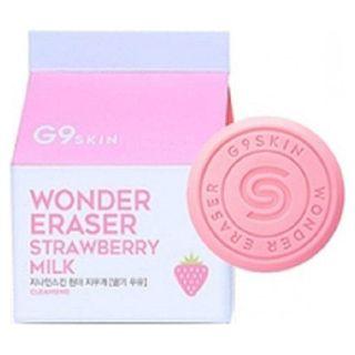G9SKIN ワンダーイレーザ(牛乳せっけん) いちご牛乳の画像