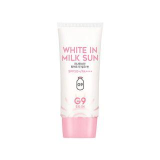 G9SKIN ホワイトインミルクサン  40g SPF50+ PA++++の画像