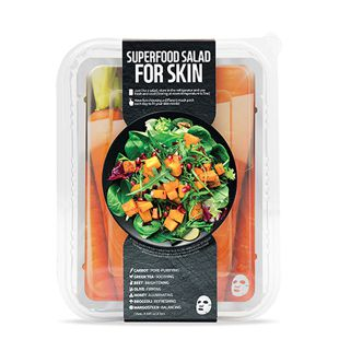 FARMSKIN スーパーフードサラダフォ-スキン パッケージB (キャロット) 1枚/25ml 7種セット の画像 0