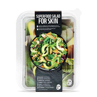 FARMSKIN スーパーフードサラダフォ-スキン パッケージ C (アボカド) 1枚/25ml 7種セットの画像
