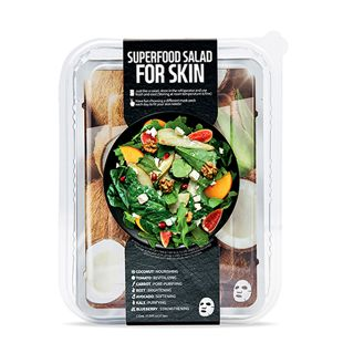 FARMSKIN スーパーフードサラダフォ-スキン パッケージ D (ココナッツ) 1枚/25ml 7種セット の画像 0