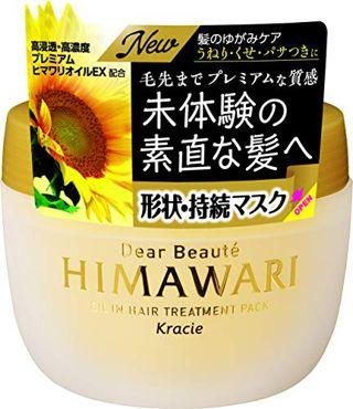 ディアボーテ HIMAWARI ディアボーテ HIMAWARI ゆがみディープリペアマスク 180g ホワイトフローラルブーケの香りの画像