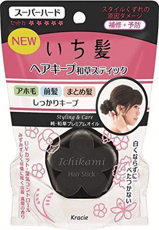 いち髪 いち髪 Ichikami ヘアキープ和草スティック(スーパーハード) 13g 三桜満開の香りの画像