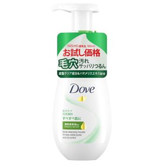 ダヴ ダヴ 【限定品】ディープピュア クリーミー泡洗顔料 お試し価格品 145mlの画像
