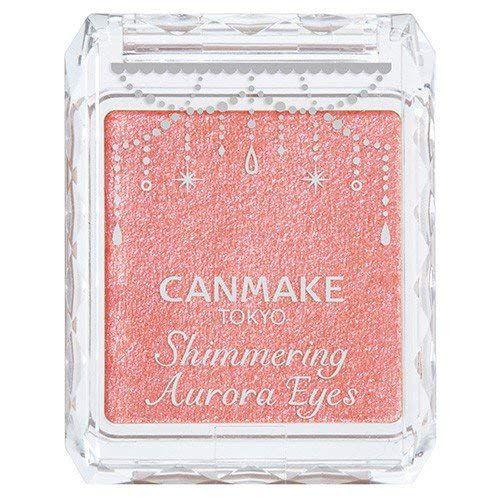 キャンメイク CANMAKE シマリングオーロラアイズ 【01】オーロラピンク 1.8gのバリエーション1