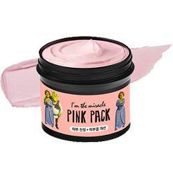 オリーブヤングのアイム ザ ミラクル フィオナ ピンク パック 100gに関する画像1