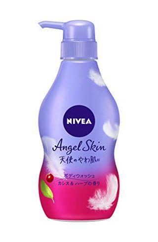 ニベア ニベア NIVEA ニベア エンジェルスキン ボディウォッシュ カシス&ハーブの香り 本体 480mlの画像