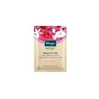 クナイプ クナイプ バスソルト ハッピーフォーミー ロータス&ジャスミンの香り 50gの画像