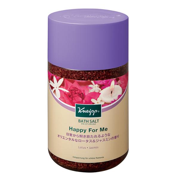クナイプのクナイプ バスソルト ハッピーフォーミー ロータス&ジャスミンの香り 850gに関する画像1