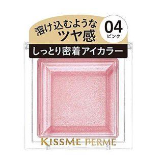 キスミー フェルム しっとりツヤ感 アイカラー 04 ピンク 2.5gの画像