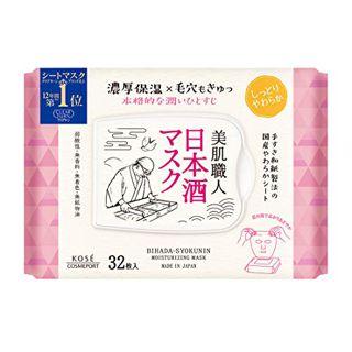 クリアターン クリアターン CLEAR TURN 美肌職人 日本酒マスク 30枚入の画像
