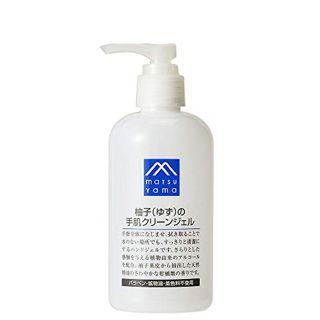 M-mark series エムマークシリーズ M-mark series 柚子(ゆず)の手肌クリーンジェル 240mLの画像
