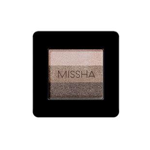 ミシャ ミシャ トリプルシャドウ No.4 チョコレートブラウン 2g の画像 0