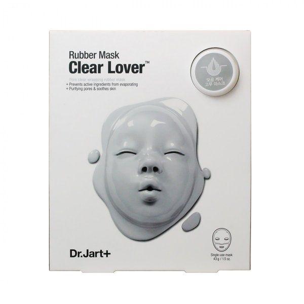 Dr.JartDRJ ダーマスク ラバーマスク クリア ラバー (シルバー)アンプル5ml+マスク43gのバリエーション2