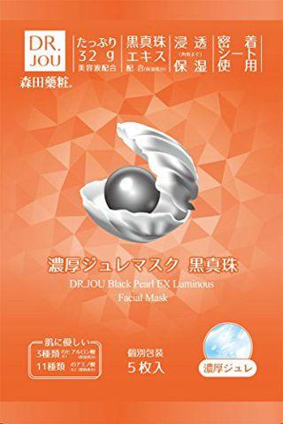 DR.JOU DR.JOU 濃厚ジュレマスク 黒真珠 本体 5枚入りの画像
